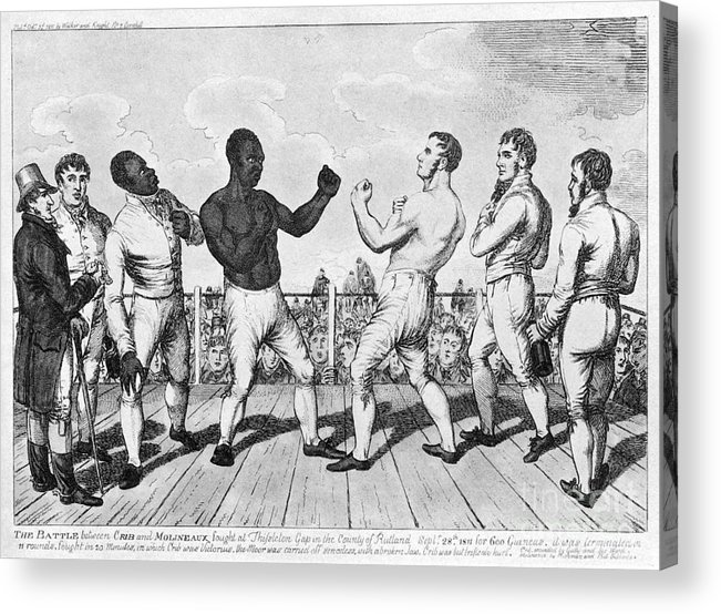 1811 Acrylic Print featuring the photograph Boxing: Cribb V. Molineaux by Granger