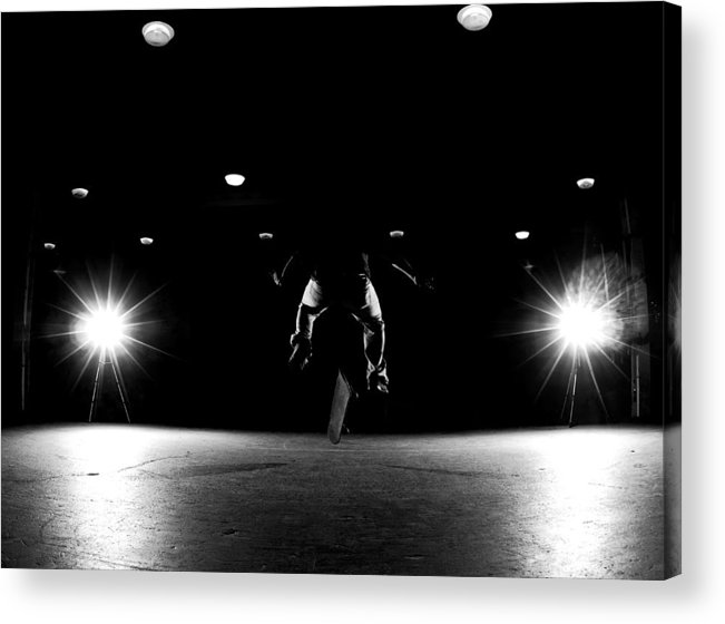Skate Acrylic Print featuring the photograph Game Of Skate by Cale Best