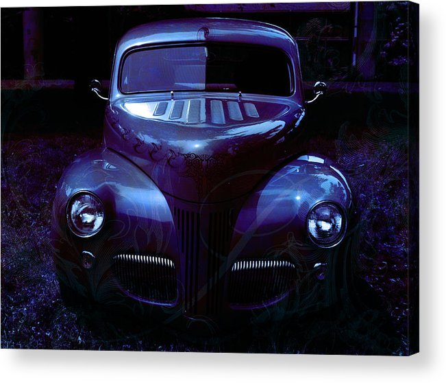 Purple Acrylic Print featuring the photograph Purple Perfection by Teri Schuster