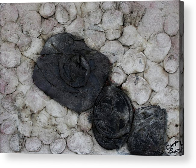 Black Memories Acrylic Print featuring the sculpture Recuerdos 6 by Jorge Berlato
