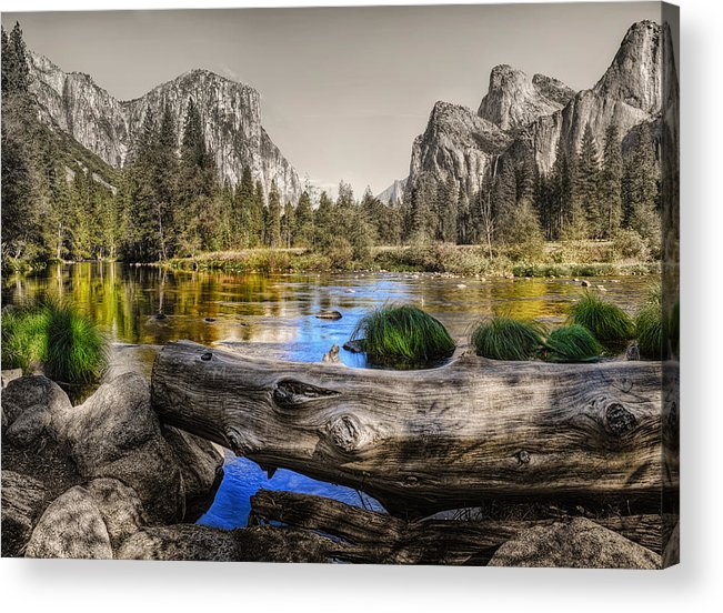 Landscape Acrylic Print featuring the photograph Gateway by Stephen Campbell
