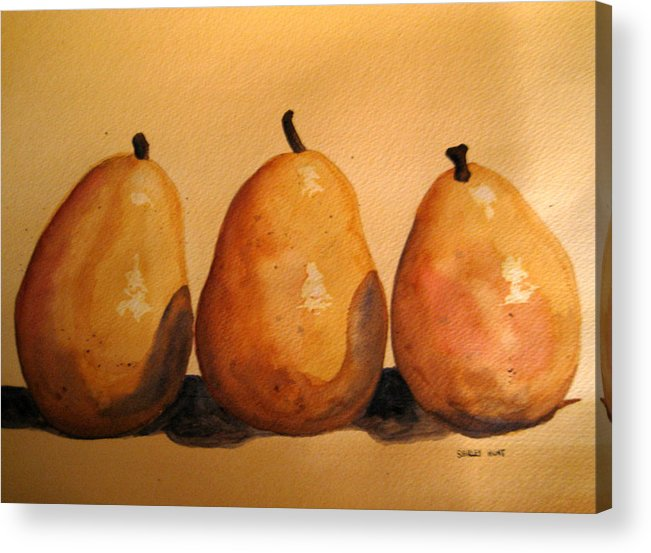 Still Life Acrylic Print featuring the painting Another Bad Hand by Shirley Braithwaite Hunt