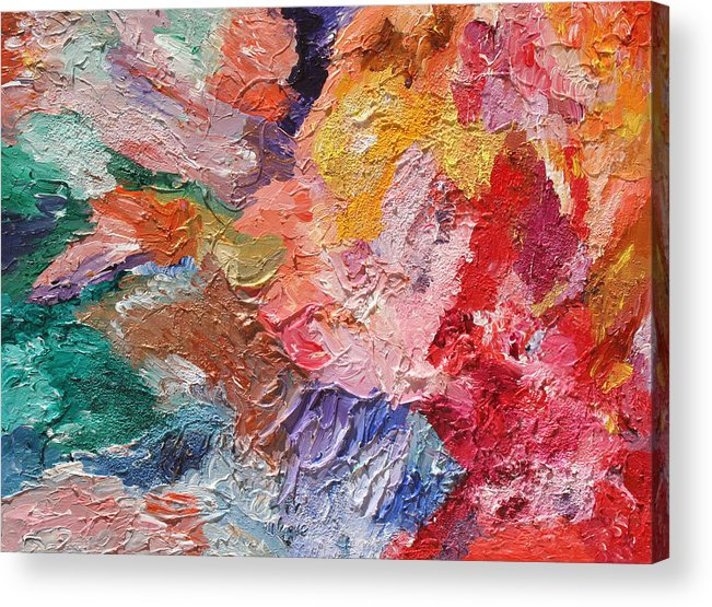 Fusionart Acrylic Print featuring the painting Birth Of Passion by Ralph White