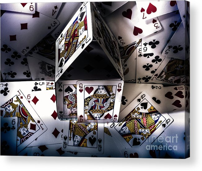 Building Acrylic Print featuring the photograph Casino House by Jorgo Photography - Wall Art Gallery