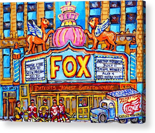 the red fox detroit