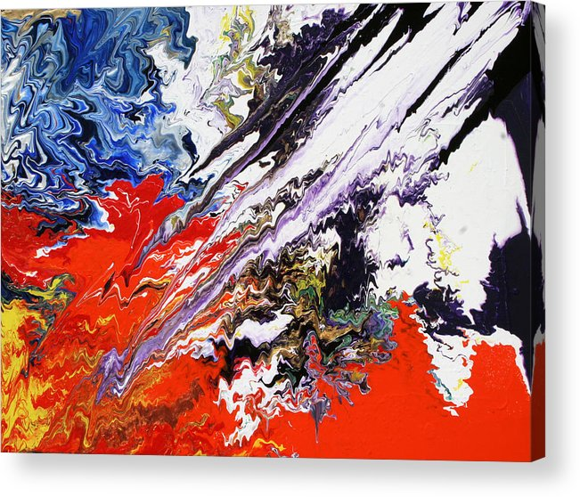Fusionart Acrylic Print featuring the painting Genesis by Ralph White
