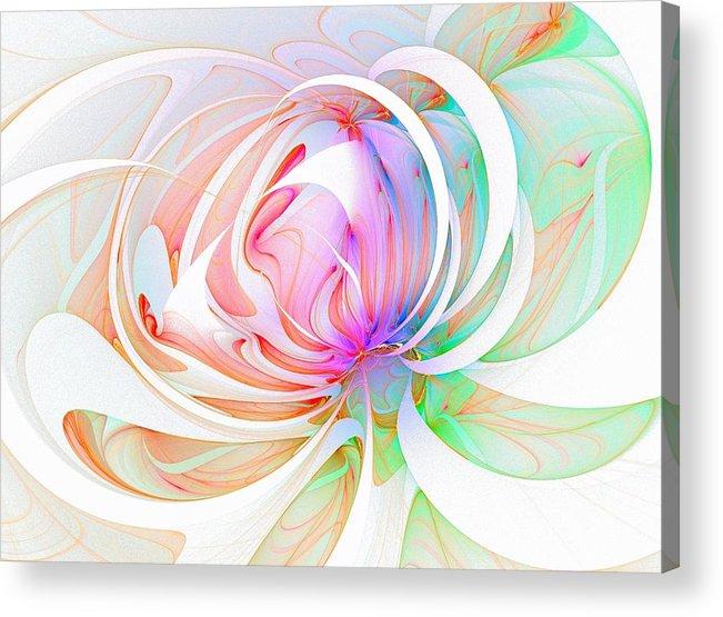 Digital Art Acrylic Print featuring the digital art Joy by Amanda Moore