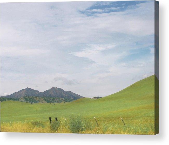 Landscape Acrylic Print featuring the photograph Mt. Diablo Mcr 1 by Karen W Meyer
