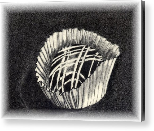 Food Acrylic Print featuring the drawing Oh Chocolate by Penny Everhart