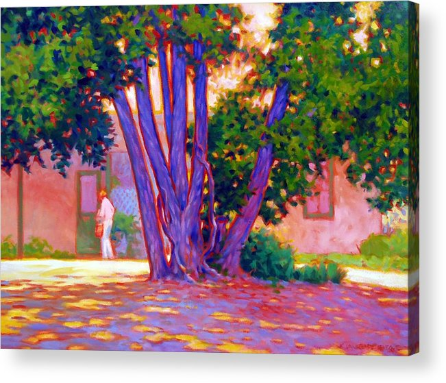 Tree Acrylic Print featuring the painting Open For Business by Kevin Lawrence Leveque