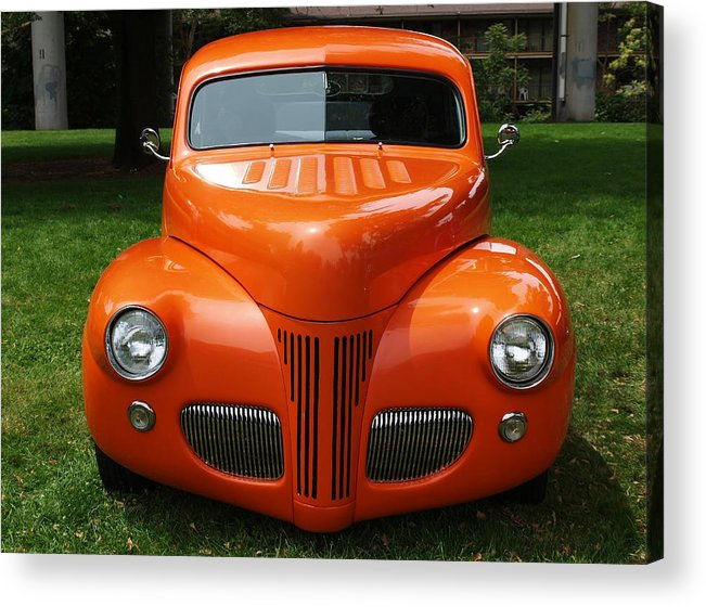 Orange Acrylic Print featuring the photograph Orange Classic by Teri Schuster