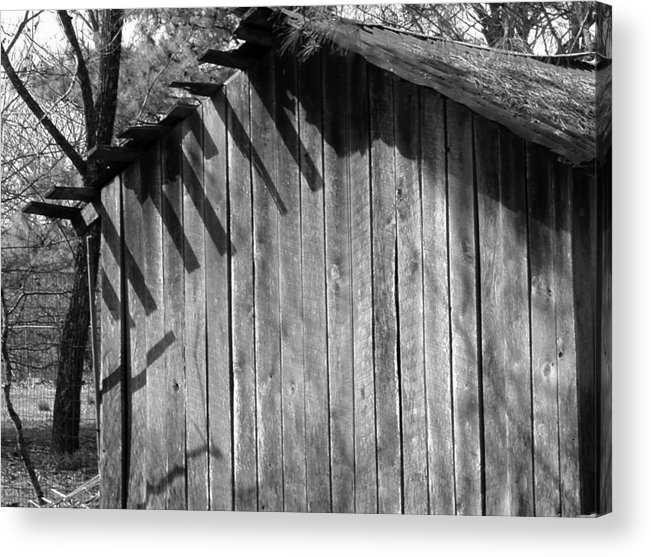 Wood Acrylic Print featuring the photograph Someraingetsthrough by Curtis J Neeley Jr