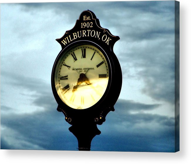 Time Acrylic Print featuring the photograph Time Well Spent by Karen Scovill