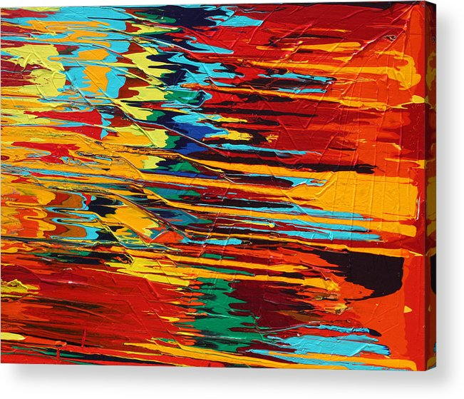 Fusionart Acrylic Print featuring the painting Zap by Ralph White