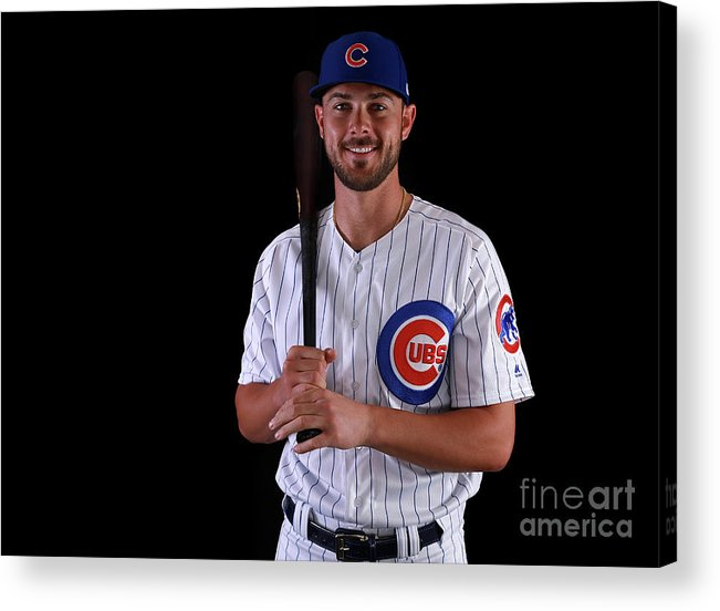 Media Day Acrylic Print featuring the photograph Chicago Cubs Photo Day 15 by Gregory Shamus
