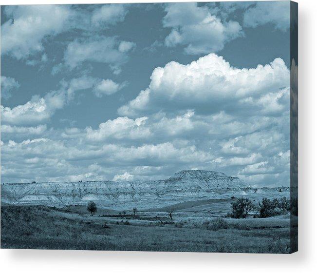 North Dakota Acrylic Print featuring the photograph Dakota Sky Dream by Cris Fulton