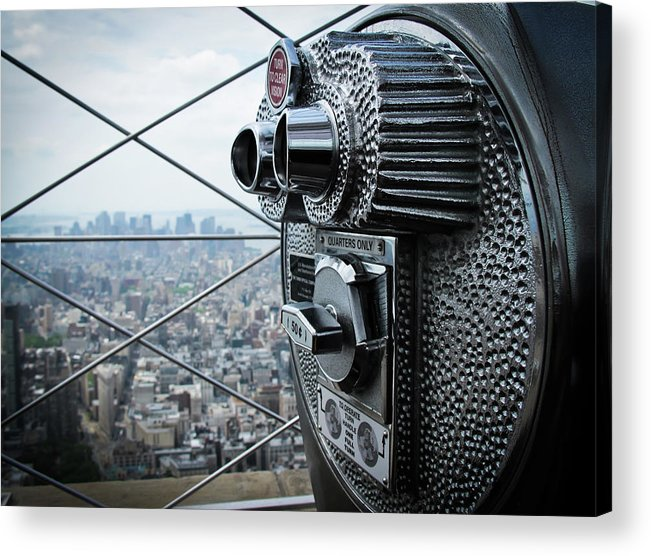 Outdoors Acrylic Print featuring the photograph From Observation Deck by N. Umnajwannaphan
