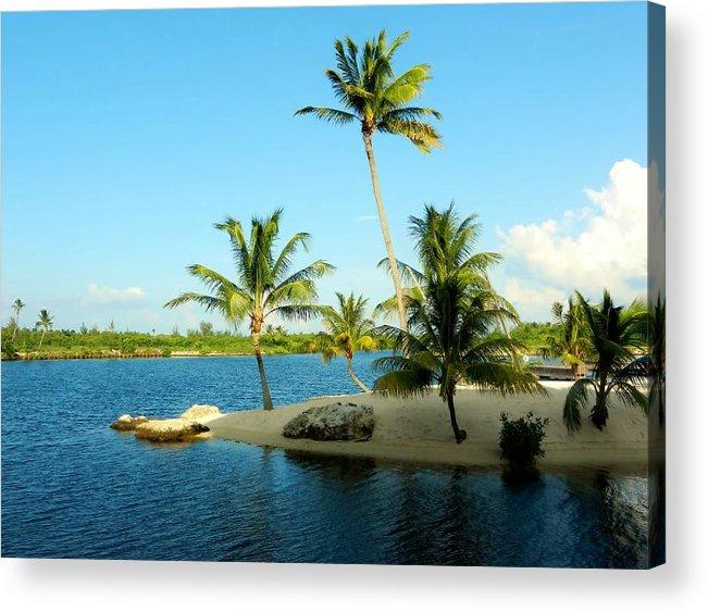 Color Acrylic Print featuring the photograph Isle @ Camana Bay by Amar Sheow