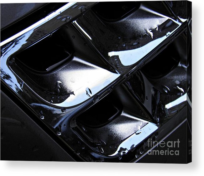 Automobile Acrylic Print featuring the photograph Auto Grill by Sarah Loft