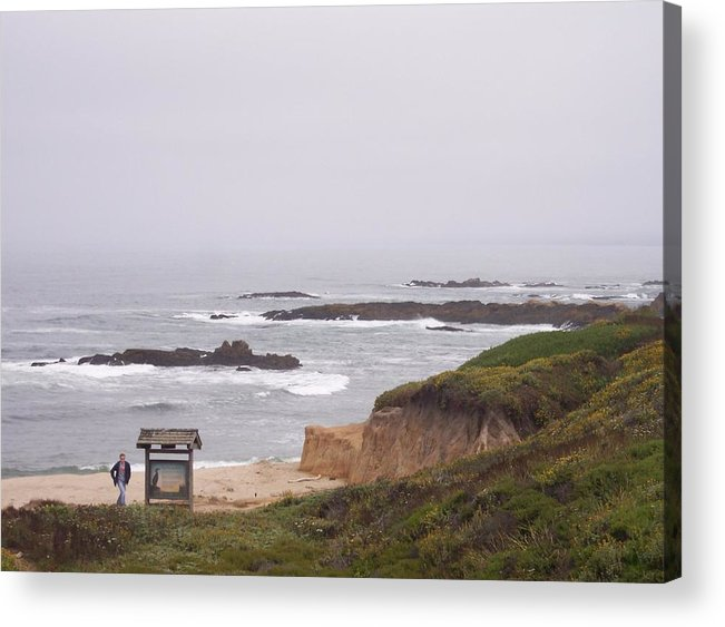 Coast Acrylic Print featuring the photograph Coastal Scene 7 by Pharris Art