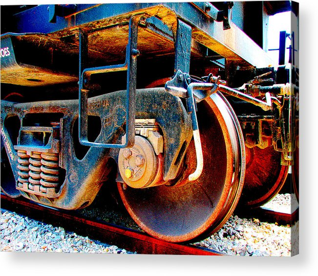 Up 590 Acrylic Print featuring the photograph Foundation 1 by Wendy J St Christopher