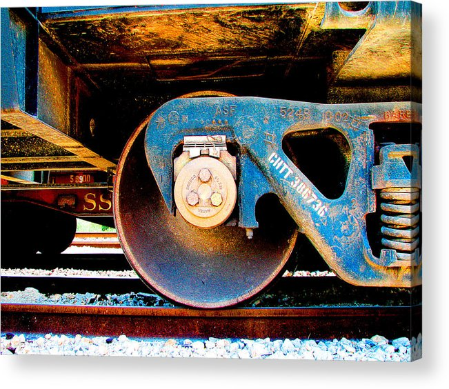 Art166 Acrylic Print featuring the photograph Foundation 2 by Wendy J St Christopher