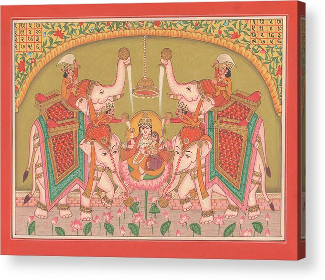 Traditional Indian Folk Art Painting