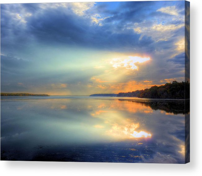 Sun Rays Acrylic Print featuring the photograph Let There Be Light by JC Findley