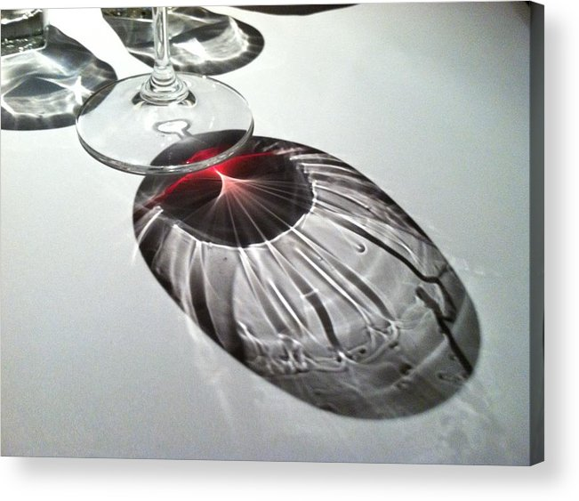 Wine Acrylic Print featuring the photograph Look At Those Legs by Anna Villarreal Garbis