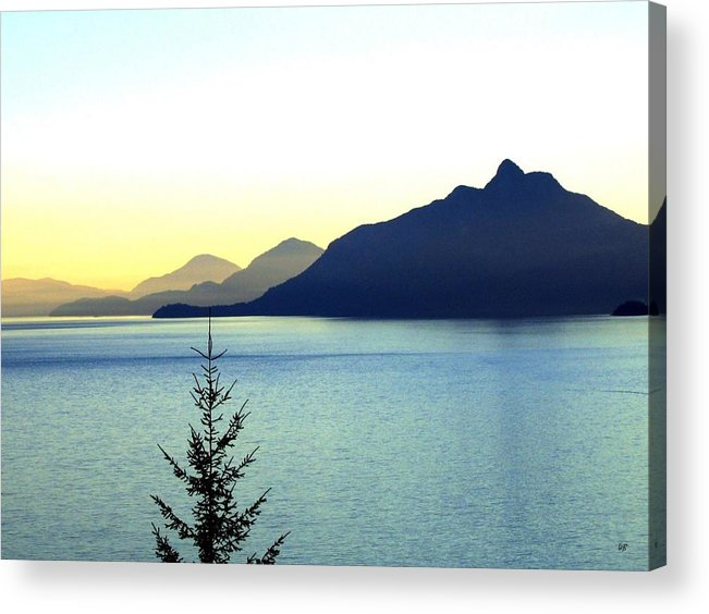 Vancouver Acrylic Print featuring the photograph Magnificent Howe Sound by Will Borden