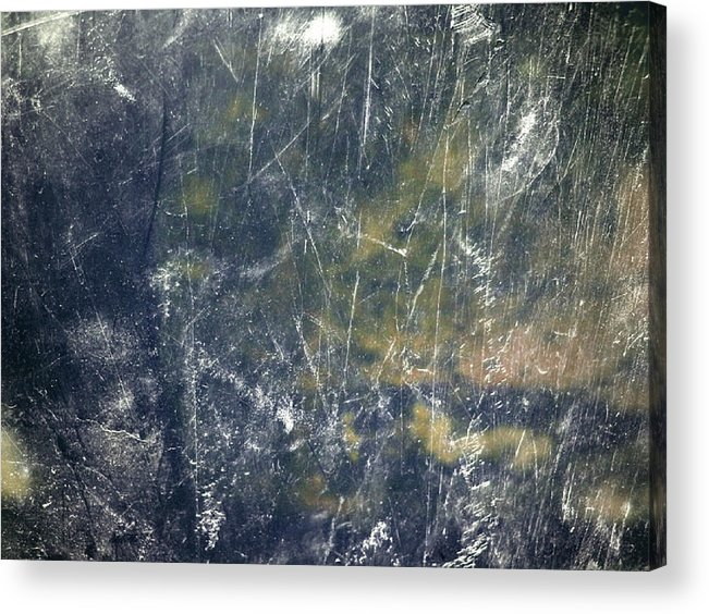 Abstract Acrylic Print featuring the mixed media Noise by Daniel Brummitt