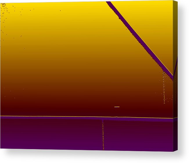 Minimal Acrylic Print featuring the photograph Simple Geometry - 4 by Lenore Senior