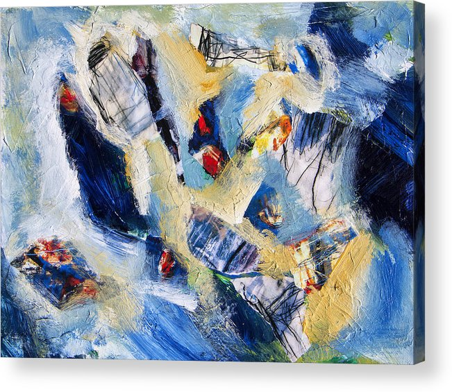 Abstract Acrylic Print featuring the painting Tsunami 2 by Dominic Piperata