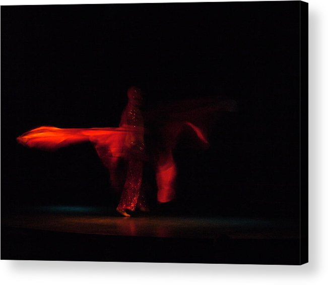 Turkey Dance Acrylic Print featuring the photograph Turkey Dance by Matthias Dildey