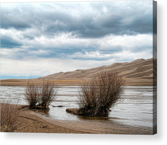 Sand Dunes Acrylic Print featuring the photograph 2242 by Peter Holme III