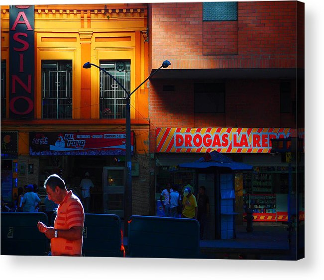 Casino Acrylic Print featuring the photograph Casino by Skip Hunt