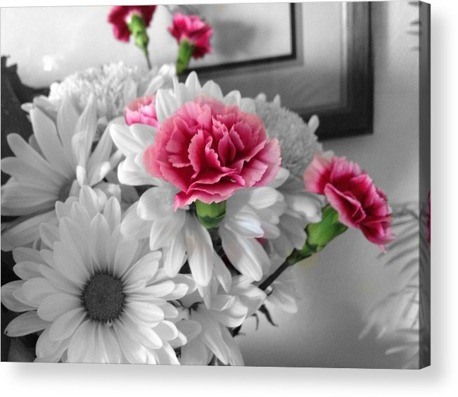 Acrylic Print featuring the photograph Flowers by Matthew Anderson