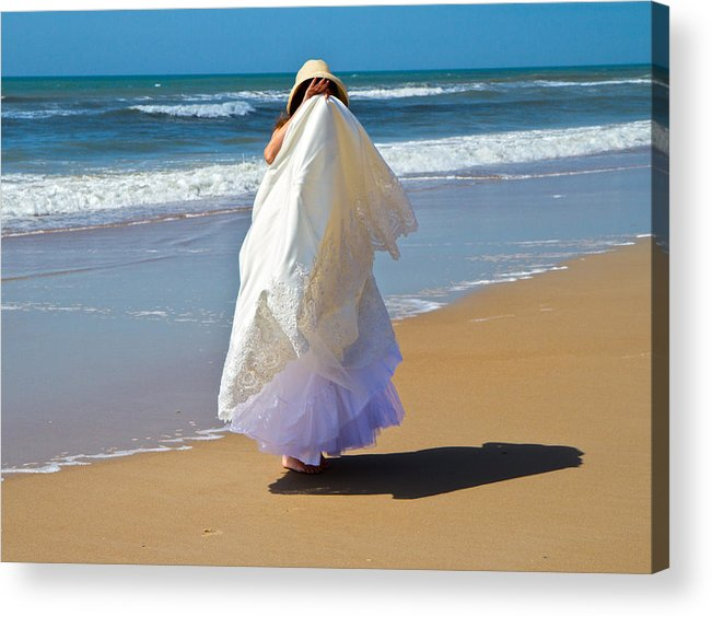 Wedding Acrylic Print featuring the photograph I'm Done by Betsy Knapp