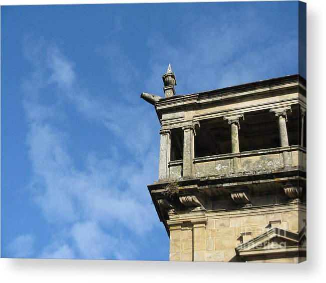 Spain Acrylic Print featuring the photograph Look Toward The Sky by Arlene Carmel