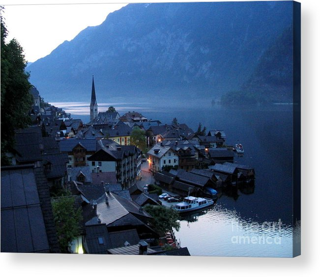 Austria Acrylic Print featuring the photograph Morning Has Broken by Eclectic Captures