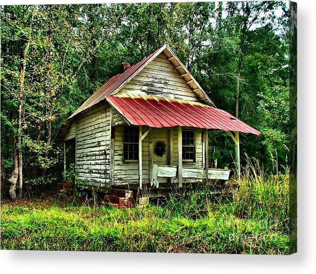 Abandoned Housese Acrylic Print featuring the photograph Old Florida Vi by Julie Dant