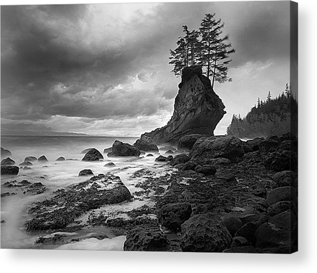 Washington Acrylic Print featuring the photograph The Old Man Of The Sea - Strait Of Juan De Fuca by Nathan Mccreery