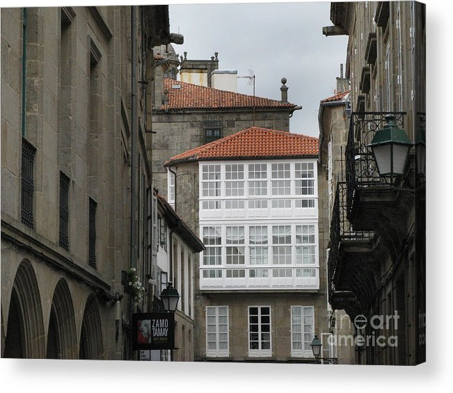 Spain Acrylic Print featuring the photograph Windows Of Galicia by Arlene Carmel