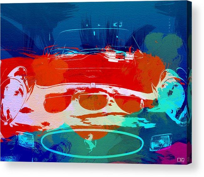 Acrylic Print featuring the photograph Ferrari Gto by Naxart Studio
