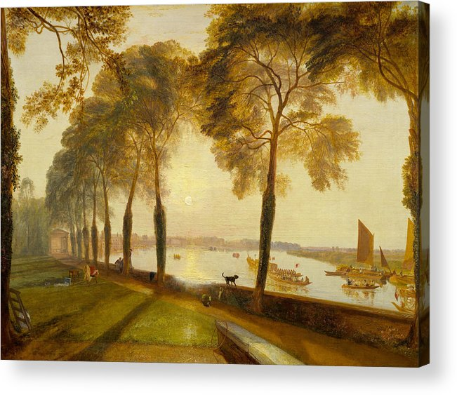 Animal Acrylic Print featuring the painting Mortlake Terrace by JMW Turner