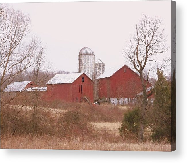 Farms Acrylic Print featuring the photograph 519 Farm by Amanda Vouglas