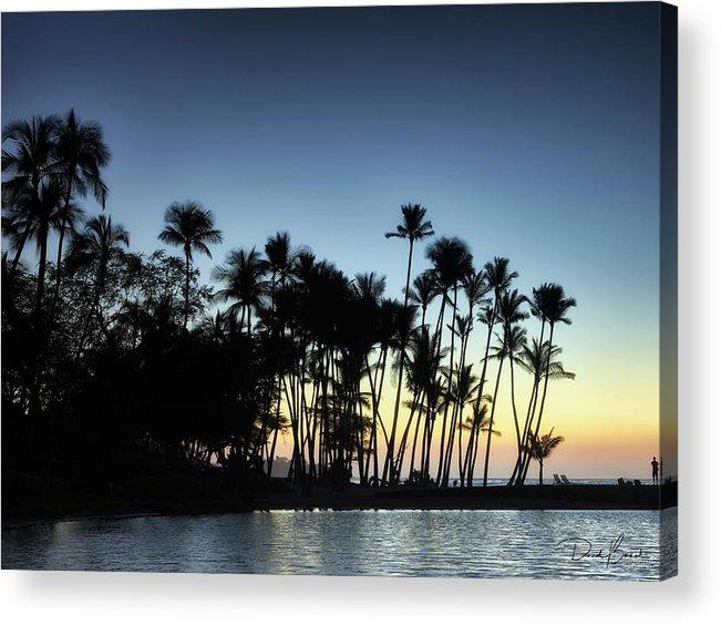 Sunset Acrylic Print featuring the photograph A-bay Aloha by David Bernal