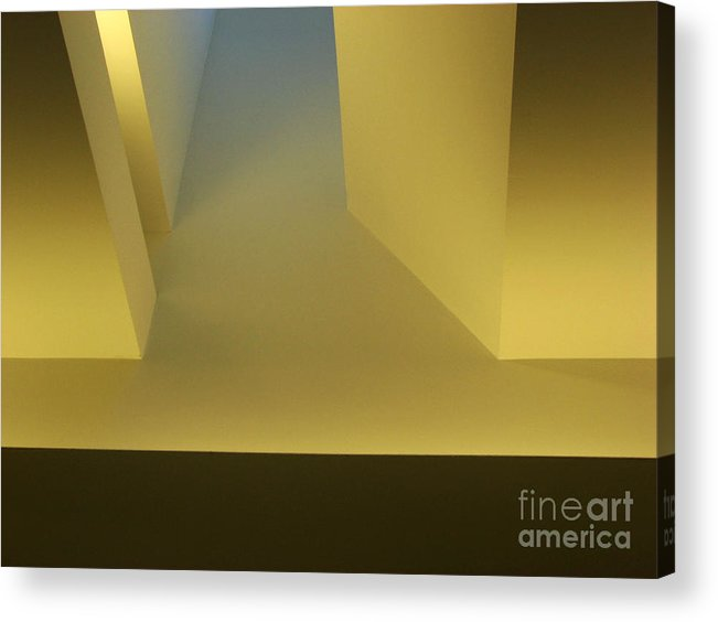 Yellow Acrylic Print featuring the photograph Above Series 4.0 by Dana DiPasquale