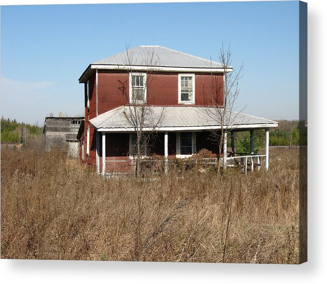 Abandoned Farmhouses Acrylic Print featuring the photograph Blow Out The Candles by Richard Stanford
