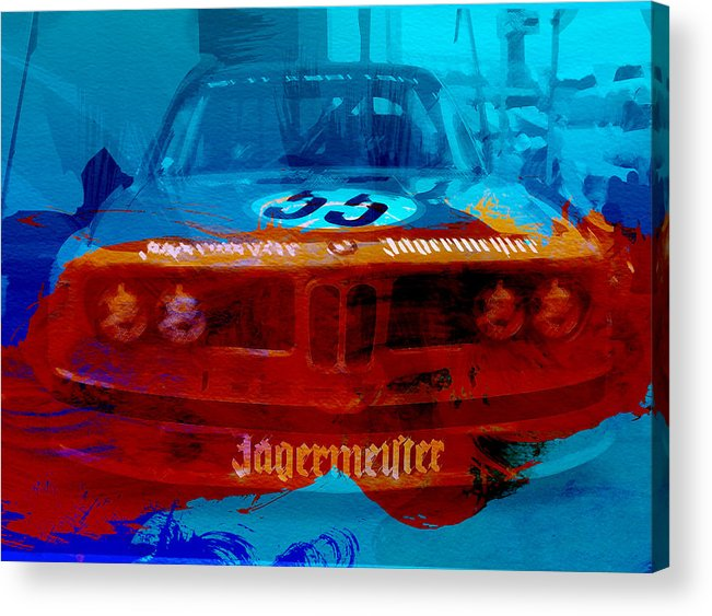 Acrylic Print featuring the photograph Bmw Jagermeister by Naxart Studio